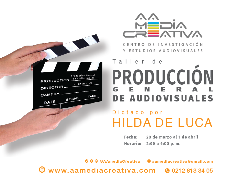 Taller de producción general de audiovisuales