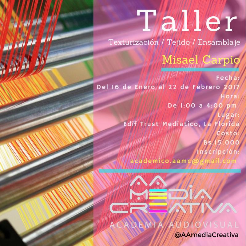 taller textura tejido ensamblaje